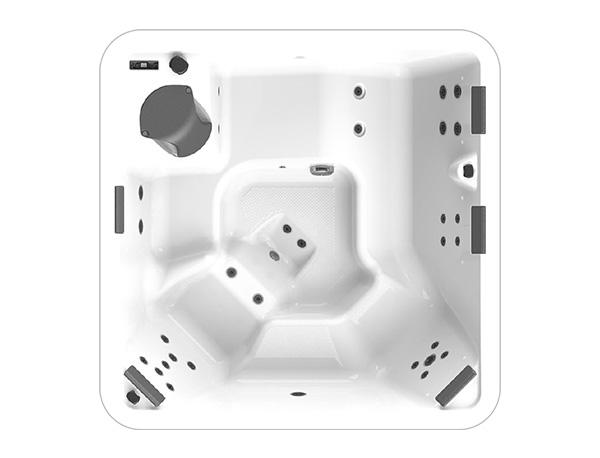 spa concept luxembourg belgique massage massant happy spa 5 positions relax 3d hauteur largeur