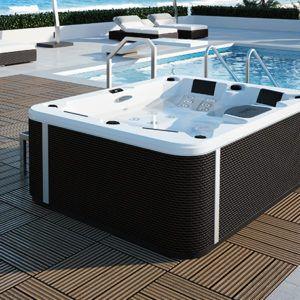 spa concept luxembourg belgique massage massant magic spa positions a300 tablier rattan