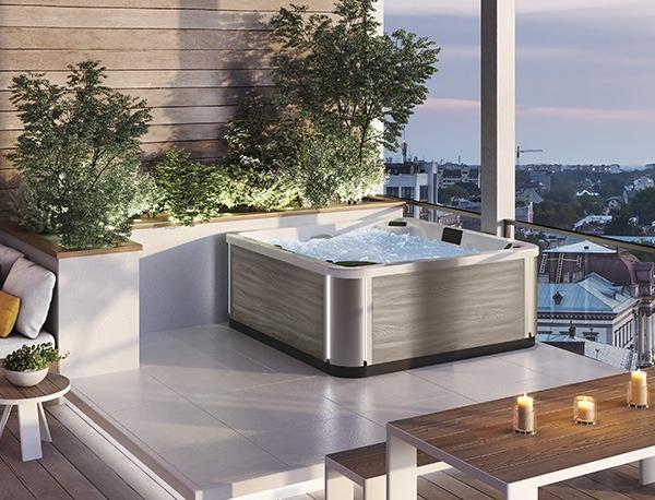 spa concept luxembourg belgique massage massant magic spa positions a400 2 bois clair lumineux tablier rattan