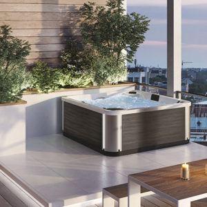 spa concept luxembourg belgique massage massant magic spa positions a400 2 bois fonce lumineux tablier rattan