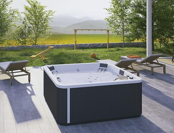 spa concept luxembourg belgique massage massant magic spa positions a500 2 lumineux tablier rattan