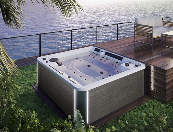 spa concept luxembourg belgique massage massant spa positions a600 2 bois fonce lumineux tablier rattan