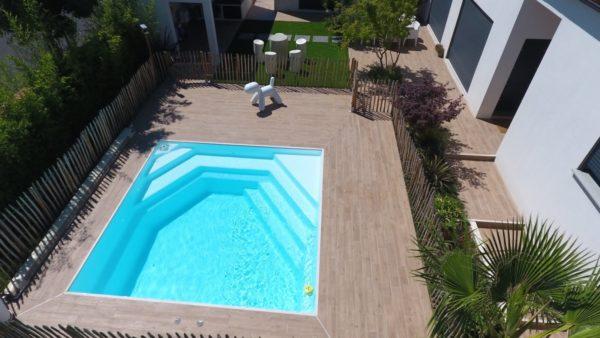 celestine 202 fond incline spa concept couverture luxembourg belgique tendances profondeur Coque polyester piscine fond plat